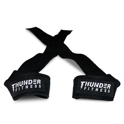 Stabila dragremmar från Thunder Fitness för extra bra grepp vid styrkelyften